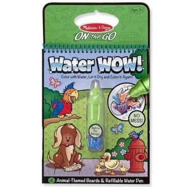 "Чарівна водна розмальовка ""Тварини"", Melissa&Doug, 5376"