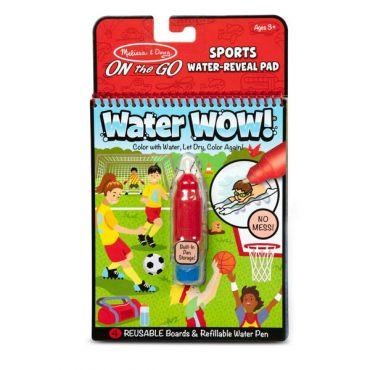 "Чарівна водна розмальовка ""Спорт"", Melissa&Doug, 30175"