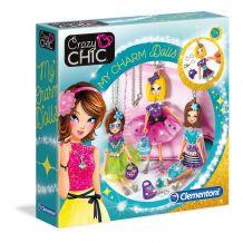 "Творческий набор ""Кулоны-куклы"", Clementoni, 78520"