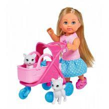 """Лялька Еві """"Няня для кошенят"""", Simba, 5733348"""