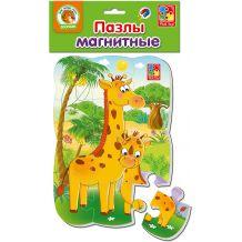 """Магнітний пазл """"Жирафи"""", Vladi Toys, VT3205-62"""