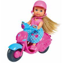 Лялька Еві на скутері, Simba, 5733345