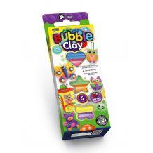 Кульковий пластилін Bubble Clay 6 кольорів, Danko Toys, BBC-01-01U