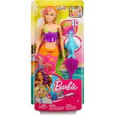 """Лялька Barbie Русалочка блондинка из серії """"Подорожі"""", Mattel, GGG58"""