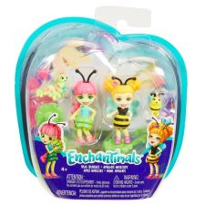 Міні-ляльки Enchantimals Гусениця Кей і Беатрис Бджілка, Mattel, FXM86/FXM88