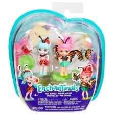 Міні-ляльки Enchantimals Ладелія Божа корівка і Баксі Метелик, Mattel, FXM86/FXM87
