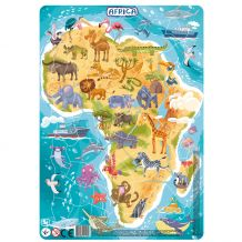 "Пазл з рамкою ""Африка"" 53ел., Dodo, 300175"