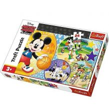 """Пазл Trefl Maxi """"Mickey Mouse, Time for sport!"""", 24ел., 14291"""