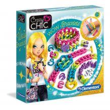 "Набір Crazy Chic ""Wow браслети"", Clementoni, 78525"