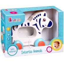 Іграшка на колесах - Зебра, BamBam, 383728