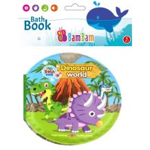 "Книжечка-пищалка для ванної ""Dinosaur world"", BamBam, 432479"