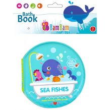 """Книжечка-пищалка для ванної """"Морські друзі"""", BamBam, 432475"""