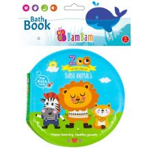 "Книжечка-пищалка для ванної ""Зоопарк"", BamBam, 432478"