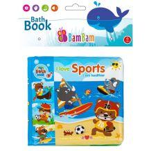 """Книжечка-пищалка для ванної """"Види спорту"""", BamBam, 432484"""