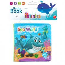 """Книжечка-пищалка для ванної """"Морський світ"""", BamBam, 432483"""