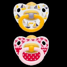 Комплект сосок-пустушок латексних NUK Happy Kids, 6-18 міс, 10172027