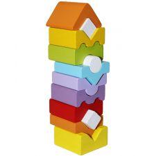 Дерев'яна пірамідка LD-11, Cubika, 14996