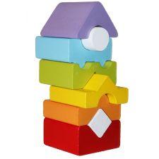 Дерев'яна пірамідка LD-12, Cubika, 15009