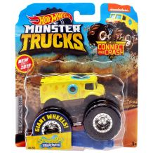 "Машина-позашляховик Spongebob Squarepants Hot Wheels серії ""Monster Trucks"" Hot Wheels, FYJ44 / GBT38"