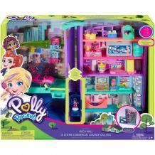 """Ігровий набір Polly Pocket """"Мікро Торговий центр"""", Mattel, GFP89"""