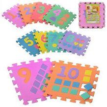 "Килимок-мозаїка ""Цифри та фігури"", Toys, M 0375"