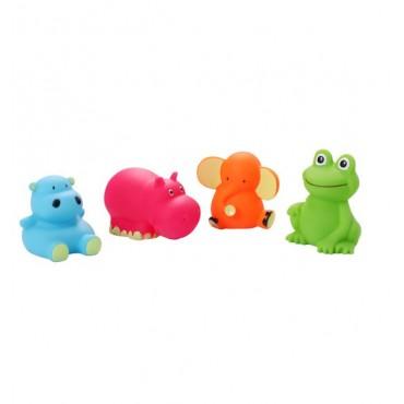 """Іграшки для ванної """"Тварини середні"""" 4 шт.,Baby Ono, 867"""