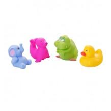 """Игрушки для ванной """"Животные маленькие"""" 4 шт., 866"""