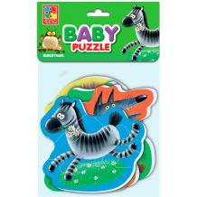 """Бебі-пазли """"Звірятка"""", Vladi Toys, VT1106-73"""