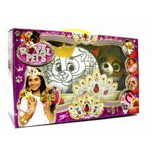 """Набір креативної творчості """"Royal pet's"""" сумочка з собачкою, Danko Toys, RP-01-06"""