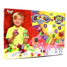 """Набір креативної творчості """"Air clay + Bubble Clay"""", Danko Toys, ARBB-01-02U"""