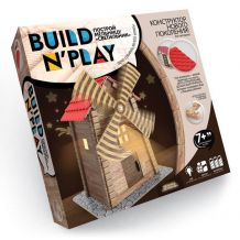 """Конструктор нового поколения """"Build'n'play. Мельница"""", Danko Toys, BNP-01-03"""