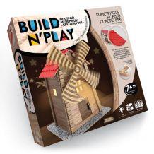 """Конструктор нового покоління """"Build'n'play. Млин"""", Danko Toys, BNP-01-03"""