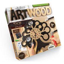 """Набір креативної творчості """"Artwood"""" Настінний годинник, Danko Toys, LBZ-01-04"""