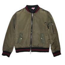 Демісезонна куртка хакі для дівчинки, OVS kids, 6747670