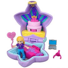 "Кишеньковий набір Polly Pocket ""Birthday Surprise Party"", Mattel, FRY29/GFM53"
