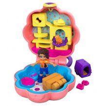 """Кишеньковий набір Polly Pocket """"Шані та котячий будиночок"""", Mattel, FRY29/GFM52"""