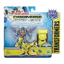 Набір Transformers Cyberverse Спарк броня Старскрім, E4298/E4219