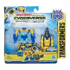 Набір Transformers Cyberverse Спарк броня Скайбайт, E4297/E4219