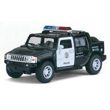 Модель Kinsmart 2005 Hummer H2 SUT (Police), KT5097WP