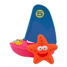 """Набор игрушек для ванны """"Веселый серфер"""", Baby Team, 9007"""