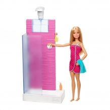 "Набір ""Mattel Doll Barbie Shower"", Mattel, DVX51/FXG51"