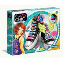 Прикраси для взуття Crazy Chic, Clementoni, 78524