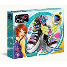 Украшения для обуви Crazy Chic, Clementoni, 78524