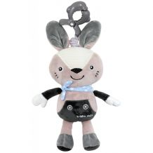 Плюшева музична скринька Кролик Alexis, Baby Mix, TK / P / 1236-EU00