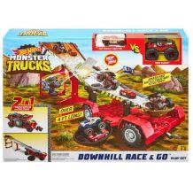 """Ігровий набір Hot Wheels """"Швидкісний спуск"""" серії Monster Trucks, GFR15"""