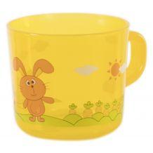 Дитяча чашка Baby team жовта, 6007
