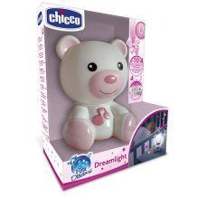 """Нічник """"Ведмежатко Dreamlight"""" рожевий, Chicco, 098301"""