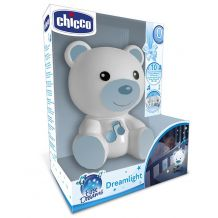 "Нічник ""Ведмежатко Dreamlight"" синій, Chicco, 098302"