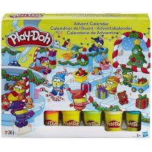 """Игрушка-сюрприз """"Рождественский календарь Play-Doh"""", Hasbro, B2199"""