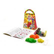 """Тісто для ліпки """"Master Do"""" 6 кольорів, 120г, Danko Toys, TMD-04-06"""